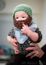 Beard Hat Crochet Pattern Cool Bobble Bearded Beanies All About Ami