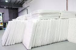stack of mattresses. Mattress Stack Tape Edger Of Mattresses