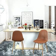 white leather dining chairs modern cognac chair pertaining to inspirations 14