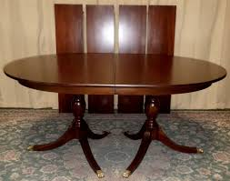 Henkel Harris Dining Table Henkel Harris Dining Table Mahogany Double Pedestal London Table