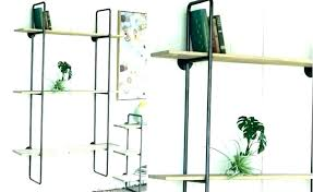 metal wall shelf brackets full size of black metal wall shelf brackets mounted shelving unit kitchen