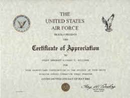 Military Certificate Templates 100 Images of Air Force Training Certificate Template infovianet 89