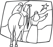 Small Picture Three Kings on Camels coloring page Free Printable Coloring Pages