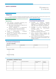 best looking resume format perfect resume  best looking resume format