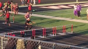 Jayla Franklin 8th grader 100m Hurdles Newton, Tex