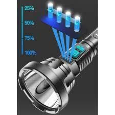 Đèn pin cầm tay giá rẻ F-901- Đèn pin đi kèm dây sạc Micro USB - Đèn pin  Thương hiệu OEM