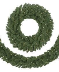 clic fraser fir wreath garland