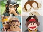 Выкройка шапки обезьянки своими руками 45