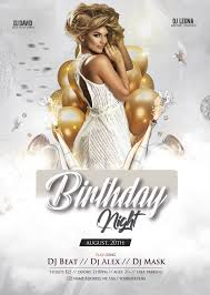 Birthday Flyers Birthday Party Out Free Psd Flyer Template Free Psd Flyer
