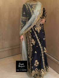 Pakistani Designer Palazzo Pants Palazzo Suit Punjabi Designers