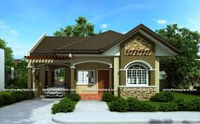 small bungalow house plans. Interesting House PinoyHousePlanPHP2015016View02 With Small Bungalow House Plans O