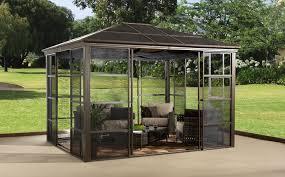 fabulous hardtop patio gazebo
