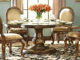 glass top dining table with wood base glass wooden dining table charming round glass dining room