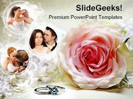 Wedding Powerpoint Template Free Couples Wedding Powerpoint Template 0610