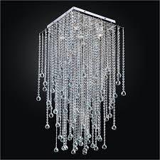 long crystal ceiling light square flush mount ceiling light glow regarding wonderful square flush mount crystal chandelier for your home decor