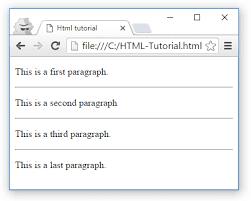 Html Horizontal Lines Html Tutorial Edututorials Com