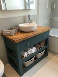 small bathroom sink vanity. Solid Oak Vanity Unit-Washstand-Bathroom Furniture-Bespoke-Rustic Small Bathroom Sink U