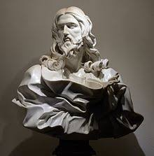 gian lorenzo bernini  bust of jesus christ by gianlorenzo bernini