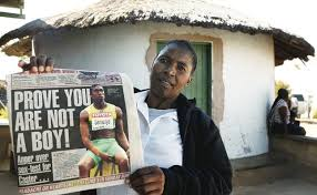 caster semenya gender test results. what is the ultimate difference between a man and woman? semenya\u0027s mother holds picture of her daughter. photograph by siphiwe sibeko / reuters caster semenya gender test results m