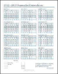 Free Printable School Calendar Free Printable School Calendars The Happy Housewife Home Schooling