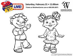 Small Picture Sid The Science Kid Free Coloring Pages On Art Coloring Pages