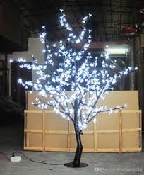 480pcs led bulbs 1 5m 5ft height led cherry blossom tree light tree light decoration indoor or outdoor use white