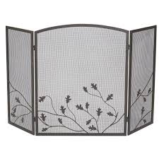 panacea oak leaf fireplace screen 15914 ace hardware