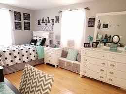 Bedroom, Charming Teenage Bedroom Themes Teenage Girl Bedroom Ideas For  Small Rooms Polcadots Blankets Pillow ...