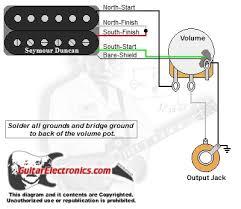 humbucker 1 volume Humbucker Wiring Humbucker Wiring #54 humbucker wiring diagram
