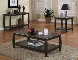 double shelf occasional table
