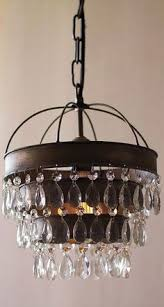 rustic lighting chandeliers. Chandelier, Small Rustic Chandelier Kitchen Lighting Brown Iron With 3 Circle Levels Crystal Lamp Chandeliers