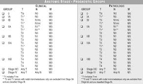 Ajcc Breast Cancer Staging Chart Ajcc Cancer Staging 7th Edition