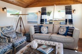 white coastal furniture. Living Rooms:Breathaking Coastal Room With Small Sofa And Blue Armchairs Also Tufted Ottoman White Furniture E