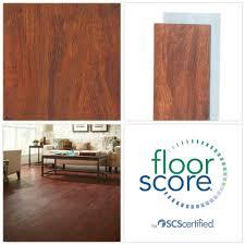 details about cherry faux wood vinyl plank flooring floor water dog scratch resistant 24 sqft