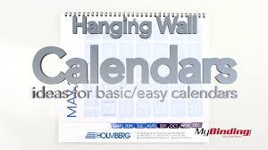 Basic Calendars Hanging Wall Calendars Ideas For Basic Calendars Youtube