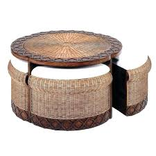 round rattan coffee table. Rattan Coffee Table Round