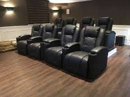 leather reclining cinema chairs black leather theater recliner theater sofas home theater furniture