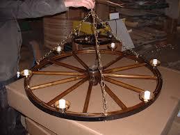 fixtures light inspiring wagon wheel light fixture parts