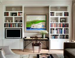 desk units for home office. Office Wall Unit With Desk Units Desks Home Transitional Room White For W
