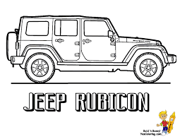 Small Picture Jeep Coloring Pages CAR Coloring pages Cool Cars 11 Free