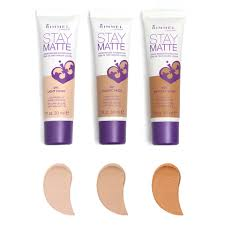 Rimmel Stay Matte Foundation Color Chart Rimmel Stay Matte Liquid Mousse Foundation In 100 Ivory