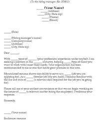 Blank Cover Letter Blank Cover Letter Format Blank Cover Letter Resume Blank Opinion Of