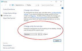 change text size system font size changer increase text size in windows 10