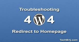 WordPress: Disable 404 Redirect to Homepage - TechBrij