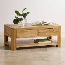 light oak coffee table romsey solid