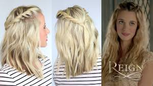 Hair Style Tv Shows twisted hairstyle inspired by reign youtube 3748 by stevesalt.us
