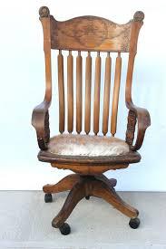 antique oak desk vintage oak swivel desk chair