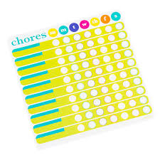 Chores Chart List Pad Pkg 50