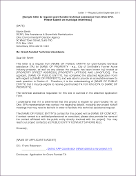 Grant Proposal Letter Ideas Of Sample Cover Letter For Grant Proposal For Cover Letter For 18