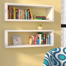 Floating Shelves Winnipeg Delectable Zipcode Design Erica Rectangle Floating Shelf Reviews Wayfair